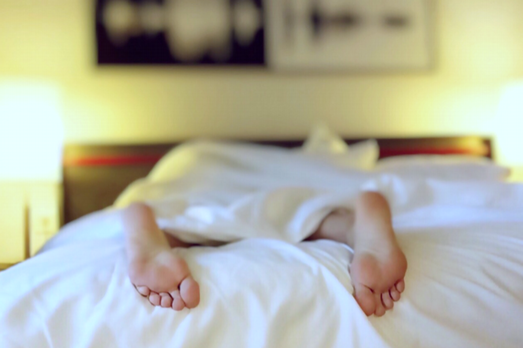 Att svettas när man sover